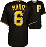 Starling Marte Pittsburgh Pirates Autographed Majestic Black Replica Jersey - Fanatics Authentic Certified
