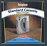 Dictaphone 2223 Standard Cassette Tape Recorder Dictator Grey