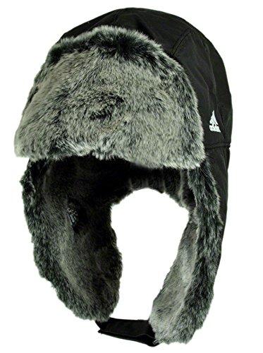 Adidas Russian Cap Russenmütze schwarz OSFM - Einheitsgröße Herren