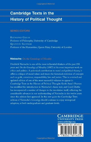 Nietzsche: 'On the Genealogy of Morality' and Other Writings: Revised Student Edition (Cambridge Texts in the History of Political Thought)
