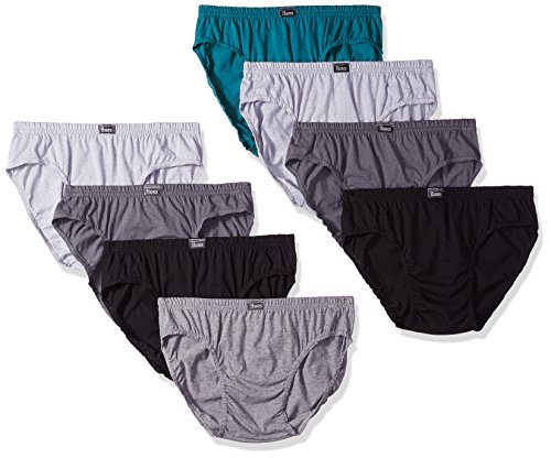 Hanes Men's 8-Pack X-Temp Low Rise Sport Briefs, Assorted, Large ()