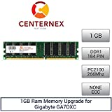 1GB RAM Memory for Gigabyte GA7DXC (PC2100 NonECC) Motherboard Memory Upgrade by US Seller