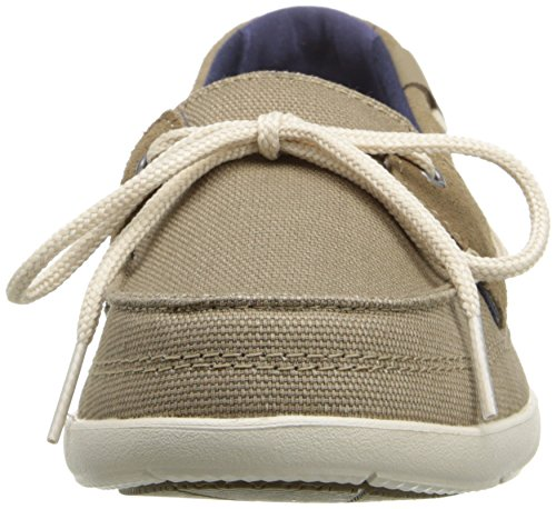 Crocs Womens Walu W Boat Shoe Khaki/Stucco 2B0qVQuq