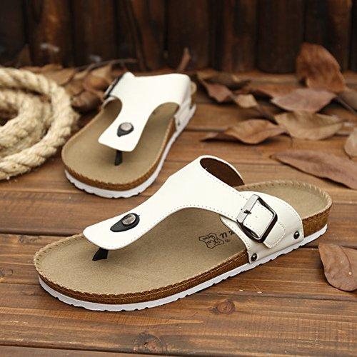 Xing Lin Sandalias De Hombre Los Hombres Zapatillas Sandalias De Verano Playa Del Hombre Zapatos Antideslizantes Sandalias De Pie Clip