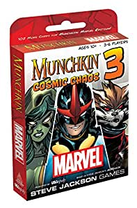 Munchkin Marvel Cosmic Chaos Strategy Game
