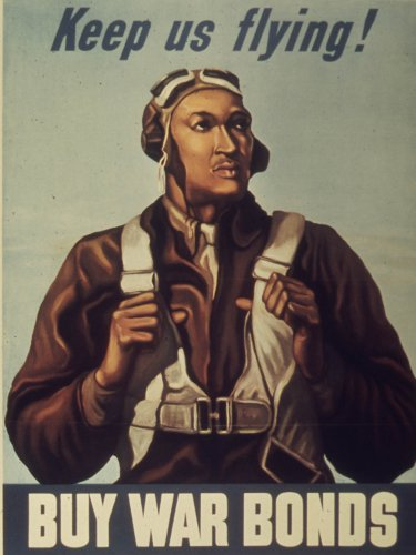 (WWII Poster - Keep us flying! Buy War Bonds. - 24