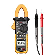 Protech MS2108 6600 Counts Auto And Manual Range AC/DC Mini Digital Clamp Meter Multimeter AC DC Voltage Current Resistance Capacitance Frequency Duty Cycle Tester With True RMS