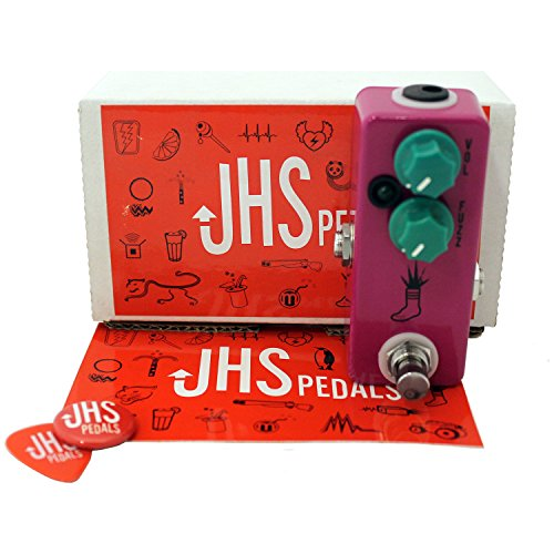 JHS Mini Foot Fuzz Pedal with JHS Sticker (Best Fuzz Pedal Ever)