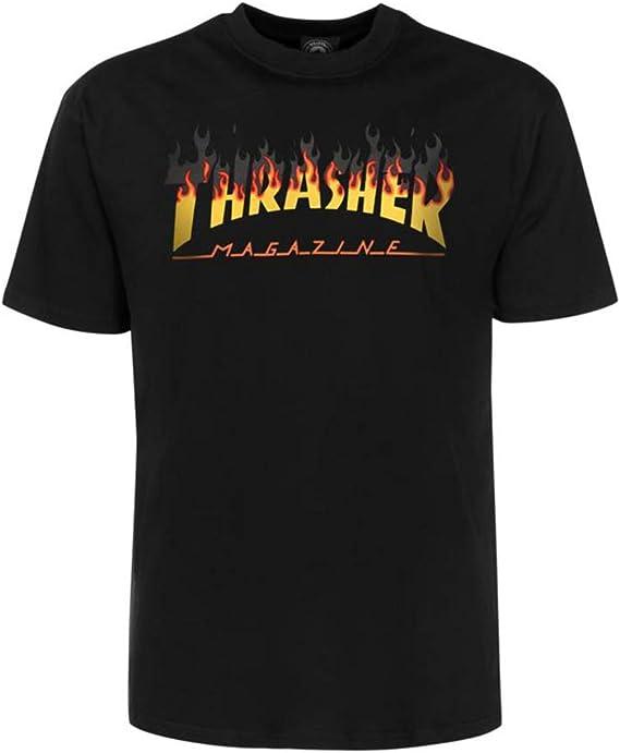 THRASHER BBQ tee Black