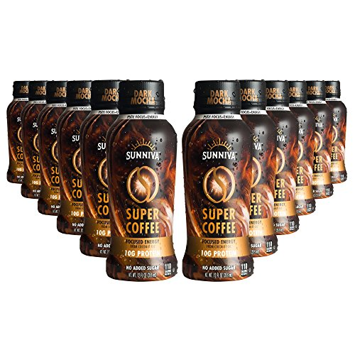 Sunniva Super Coffee Dark Mocha, Pack Of 12