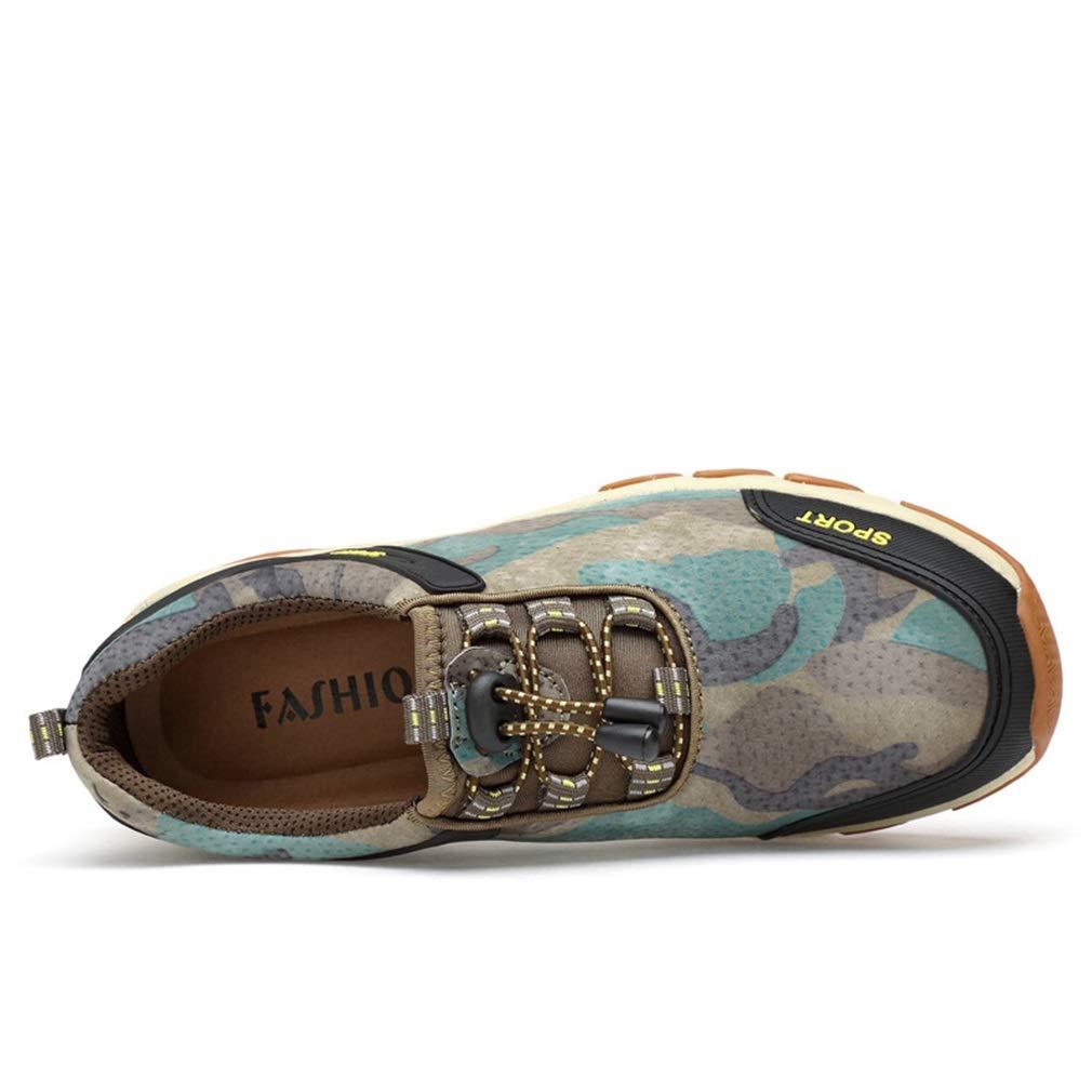 YAN Scarpe da da da uomo scarpe da ginnastica in pelle scamosciata Autunno & Inverno, antiscivolo Lace Up Low-top scarpe casual sportive scarpe da passeggio (Coloreee   B, Dimensione   43) | Aspetto Gradevole  | Alta sicurezza  | Aspetto Elegante  | Qualità  ba251b