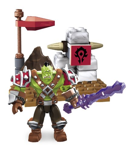 - Megabloks Fife 91003 Mega Brands America Inc Mega Bloks World of Warcraft Ragerock Horde Orc Warrior