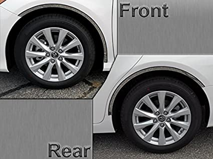QAA 1PC STAINLESS STEEL FRONT BUMPER ACCENT TRIM FITS 2012-2014 TOYOTA CAMRY