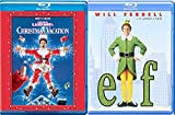 A Christmas Elf Double Feature Movie National Lampoon's Christmas Vacation Comedy Holiday Will Ferrell Chevy Chase 2-Pack