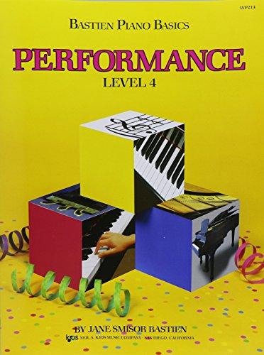 WP214 - Bastien Piano Basics - Performance Level 4