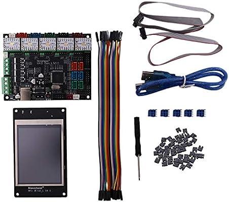 Semoic Impresora 3D MKS Gen-L V2.0 Placa Madre de Placa de 32 bits ...