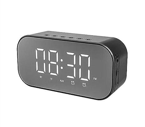 Reloj Despertador Radio Bluetooth Alarma De Cabecera Relojes con ...