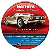 Mothers 35550 California Gold Pure Brazilian Carnauba Wax Paste - Step 3, 12-Ounce