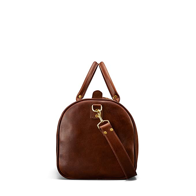 eb38c145d1f Amazon.com   J.W. Hulme Continental Leather Duffle, for Everyday or Travel,  American Heritage   Travel Duffels