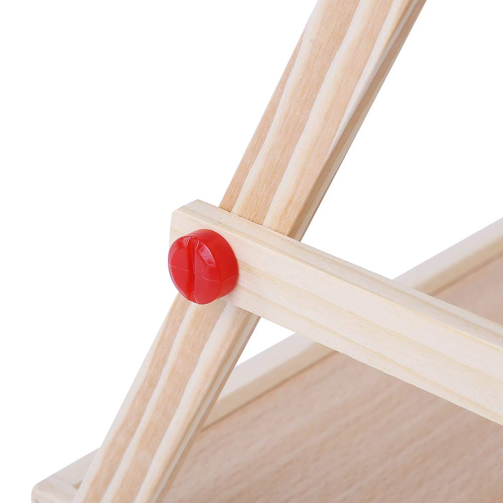 Enfants Wosume Chevalet dart 2 en 1 Tableau Noir et Tableau Blanc magn/étique Planche /à Dessin en Bois pour Enfants Enfants