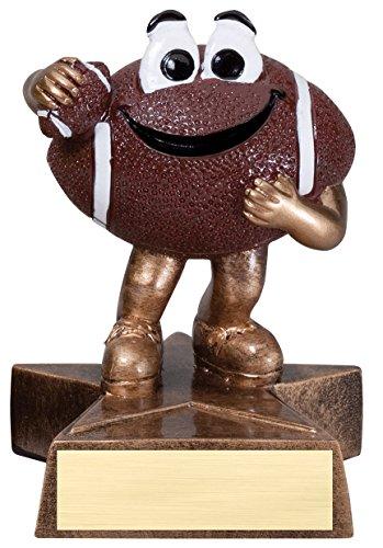 Etch Workz Football Lil'Buddy Trophy - 4