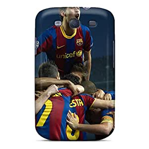 New NxBwM4023-Mcu The Football Player Of Barcelona Sergio Busquets Skin Case Cover Shatterproof Case For Galaxy S3