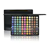 Ucanbe Matte Shimmer Nude Eye shadow Pallete with Whole Color Series Natural Professional Eyeshadow pallet kit