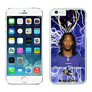 NFL Case Cover For SamSung Galaxy Note 4 Baltimore Ravens Christian Thompson White Case Cover For SamSung Galaxy Note 4 Cell Phone Case ONXTWKHB0304