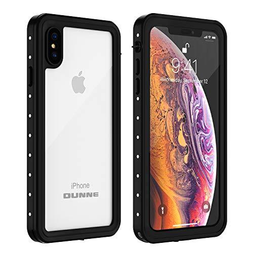 iPhone Xs Max Waterproof Case, OUNNE Underwater Full Sealed Cover IP68 Dustproof Snowproof Shockproof Phone Case for iPhone Xs Max (Clear) -