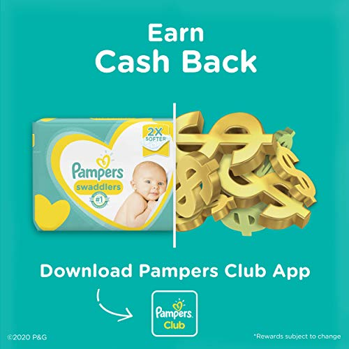 Diapers Size 5, 132 Count - Pampers Swaddlers Disposable Baby Diapers, ONE MONTH SUPPLY