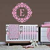 Fit You Wall Decals Sticker Bedroom Kids Nursery Baby Custom Name Monogram Sign Words Flowers (Z1111)