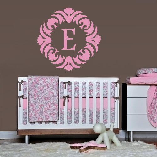 Fit You Wall Decals Sticker Bedroom Kids Nursery Baby Custom Name Monogram Sign Words Flowers (Z1111) by Fit You4473