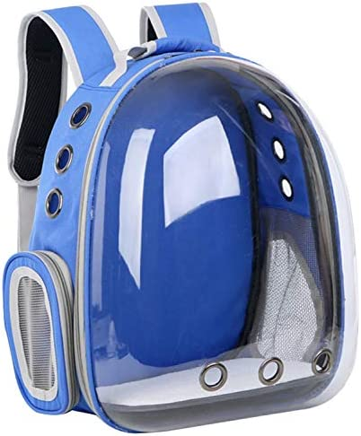 CEAJOO Pet Carrier Backpack for Cats and Small Dogs Space Capsule Transparent 360 Sightseeing Airline Approved