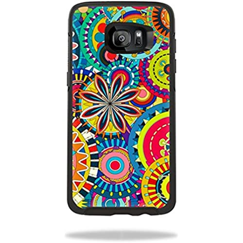 MightySkins Protective Vinyl Skin Decal for OtterBox Symmetry Samsung Galaxy S7 Edge Case wrap cover sticker skins Flower Wheels Sales