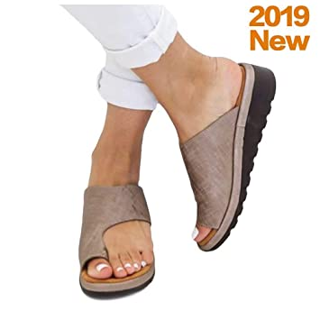 2019 New Women Sandal Shoes, Women Comfy Platform Shoes