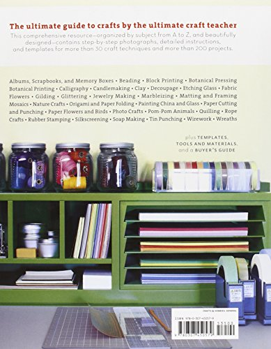 Review Martha Stewart's Encyclopedia of Crafts: An A-to-Z Guide with Detailed Instructions and Endless Inspiration
