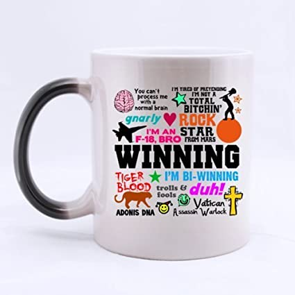 fashion mug cool design winning saying heat color changing mug magic coffee mug ceramic11
