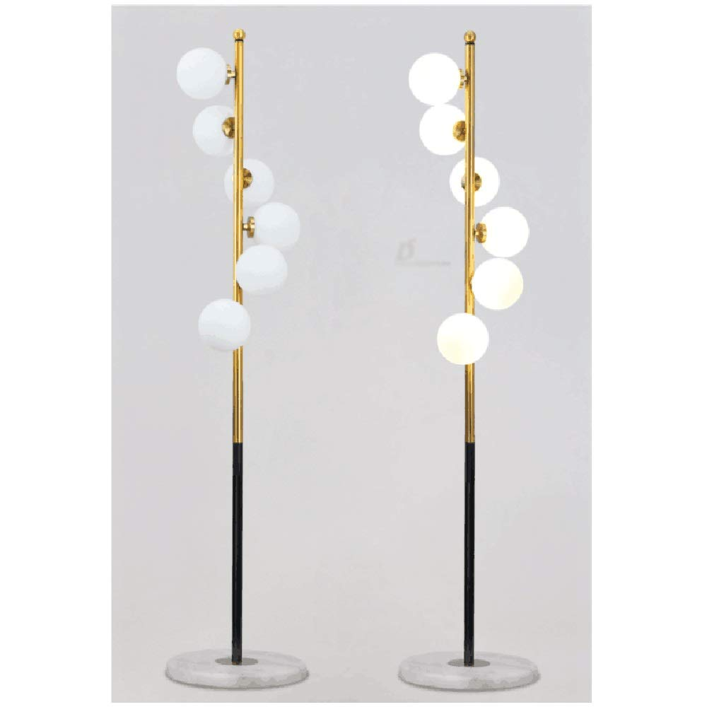 Amazon.com: QPSGB Floor Lamp - Post-Modern Creative Glass ...