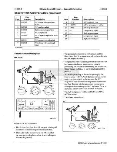 2000 ford explorer mercury mountaineer shop service repair. Black Bedroom Furniture Sets. Home Design Ideas