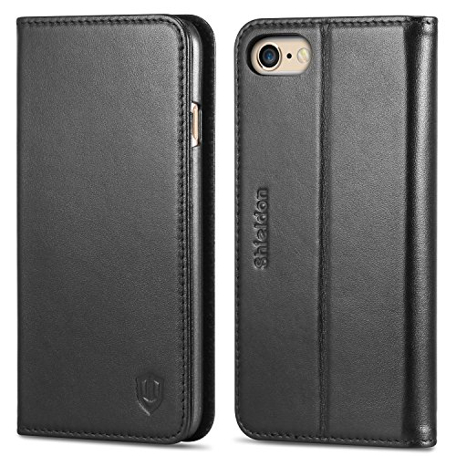 iPhone 6S Case iPhone 6 Case, SHIELDON Genuine Leather Case (Clean Cowhide Leather)