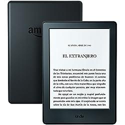 Kindle batería que dura semanas, color Negro, Wi-Fi, 2016, 8ª generación