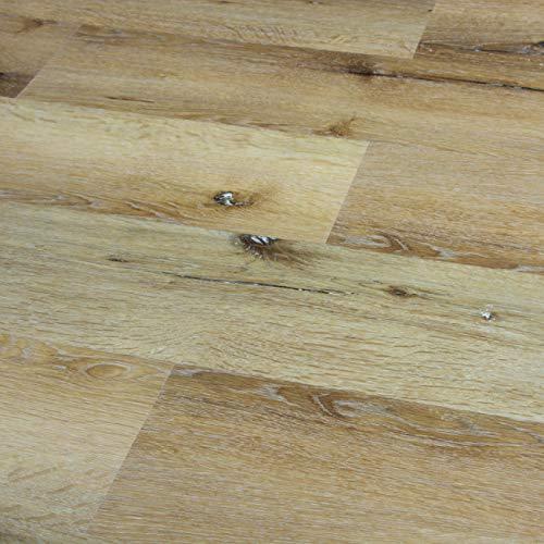 Feather Lodge Shark Plank Wellington Walnut 4mm Vinyl Flooring SAMPLE
