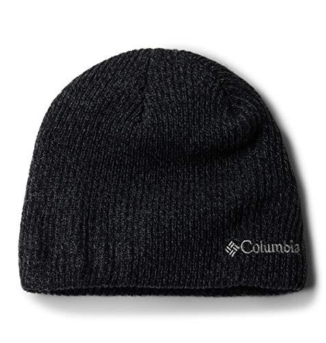 Columbia Men's Whirlibird Watch Cap Beanie, Black/Graphite Marled, One -