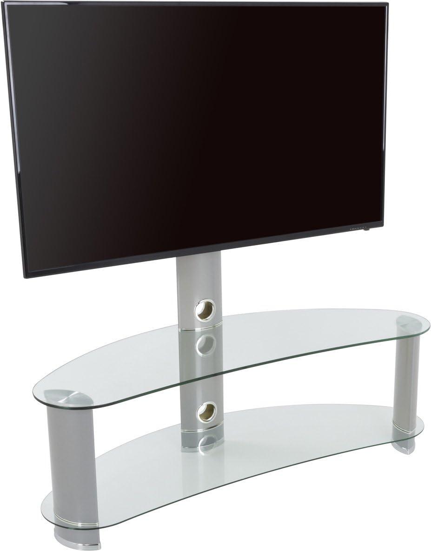 AVF - Soporte Curvo para televisores de hasta 55 Pulgadas (Cristal ...