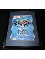 Disney Marvel Infinity 2014 PS3 Framed 11x14 ORIGINAL Vintage Advertisement