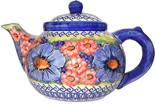 """Polish Pottery Coffee Pot or Teapot Eva's Collection """"Isabelle"""""""