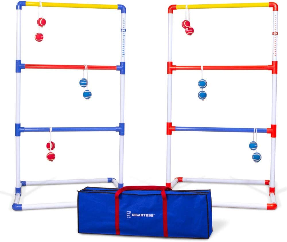 Amazon.com : GoSports Gigantoss Ladder Toss Set | Giant Size is 2X ...
