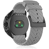 Horlogeband voor Suunto Spartan Sport Pols HR Baro/Suunto 9/Suunto D5, Siliconen Sport Horlogeband Fitness Band voor…
