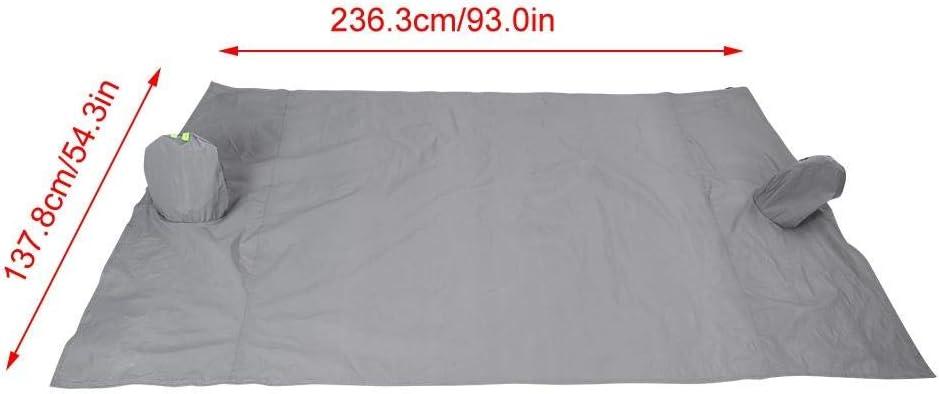 2.4m EBTOOLS Copertura Parabrezza,Parasole Parabrezza Auto,per Proteggere I Tergicristalli e Specchietti,Pieghevole e Rimovibile,2.05