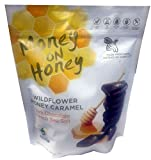 nongmo corn flower - Money on Honey Wildflower Honey Caramel Made From Honey 14 Ounce Bag